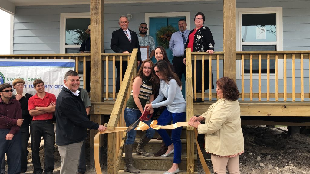 Another Coastal Bend family receives the keys to their new home
